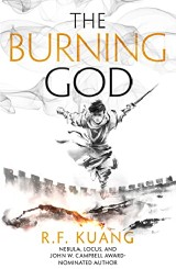 book cover of The Burning God